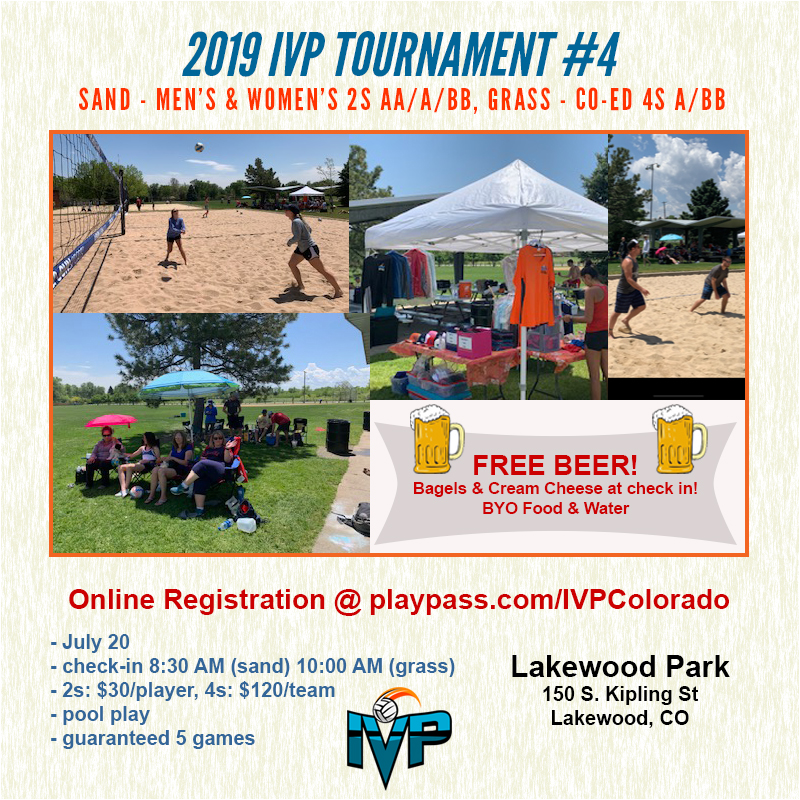 2019 IVP Volleyball Tournament #4